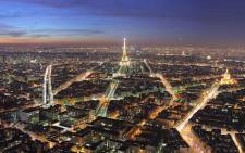 A view of Paris by night. Picture: Wikimedia Commons.