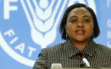 FILE: Thoko Didiza in 2005. Picture: AFP.