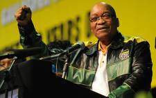 President Jacob Zuma attends the ANC 2012 policy conference in Midrand. Picture: Taurai Maduna/EWN