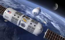 An image of what the world's first luxury space hotel, Aurora Station, would look like. Picture: CNN