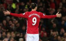 FILE: Manchester United forward Zlatan Ibrahimovic. Picture: @ManUtd/Twitter