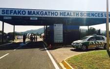 FILE: The Sefako Makgatho Health Sciences University (SMU). Picture: EWN