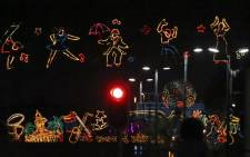 FILE: The City of Cape Town's annual festive lights switch on on 3 December 2017. Picture: EWN.