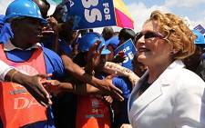 DA leader Helen Zille delivered the party's election manifesto to thousands of supporters in Polokwane on Sunday. Picture: Sebabatso Mosamo/EWN