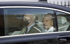 Britain's Prince Philip, the Duke of Edinburgh, leaves King Edward VII's Hospital in central London on 16 March 2021. Picture: Justin Tallis/AFP