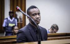 Duduzane Zuma in the Randburg Magistrate's Court on 26 March 2019 for the start of his culpable homicide trial. Picture: Abigail Javier/EWN