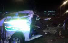 Five people were killed an accident on the R24 in Kempton Park. @ER24EMS