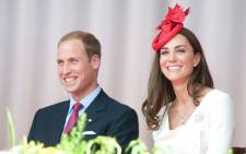 FILE: ‏Prince William and his wife, Duchess Catherine. Picture: @KensingtonRoyal.