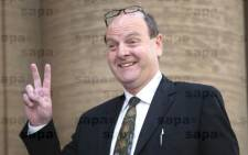 FILE: Paul O' Sullivan outside the High Court in Johannesburg in August 2010. Picture: SAPA.