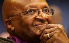 "FILE: Archbishop Desmond Tutu at the launch of the ""Ubuntu in the Home"" programme to combat domestic violence through the use of religious leaders. Picture: Sapa"