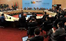 Start of the 6th Brics summit held at Centro de Eventos do Ceara' in Fortaleza, Brazil. Picture: GCIS.