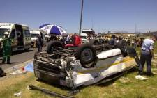 FILE: Limpopo police have opened a case of culpable homicide after 10 people died in a car crash on the N1.