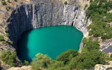 The Big Hole mine pit in Kimberley. Picture: Wikimedia Commons.