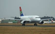 FILE: SAA plane at OR Tambo International Airport. Picture: 123rf.