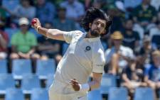 FILE: Seamer Ishant Sharma. Picture: @OfficialCSA/Twitter.