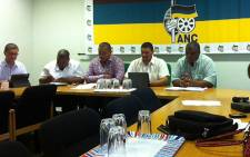 The ANC in the Western Cape holds its post Lekgotla media briefing on 25 February 2013. Picture: Carmel Loggenberg/EWN