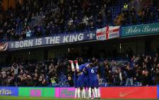 Chelsea beat Leicester 2-1 on 18 May 2021 in front of 8,000 fans at the Stamford Bridge in London. Picture: @ChelseaFC/Twitter.
