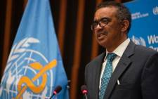 World Health Organisation Director-General Tedros Adhanom Ghebreyesus Picture: @WHO/Twitter