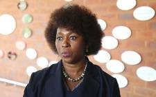 Makhosi Khoza announced her resignation from the ANC at a press briefing at the Lilliesleaf Farm in Johannesburg on 21 September 2017. Picture: Christa Eybers/EWN.