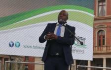 FILE: Former Tshwane mayor, Stevens Mokgalapa. Picture: @CityTshwane/Twitter