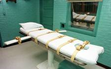 "A file photo showing the ""death chamber"" at the Texas Department of Criminal Justice Huntsville Unit in Huntsville, Texas. Picture: AFP"
