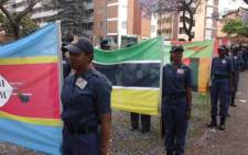 A Parade of Nations for the SARPCCO Regional Training Conference for Women taking place in Pretoria on 20 October 2015. Picture: SAPS