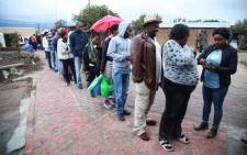 Voting was moved to the Emfundisweni Pre-Primary School in Nomzamo, in the Western Cape, after the community hall where it was originally scheduled was illegally occupied. Picture: Cindy Archillies/EWN.