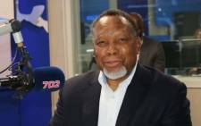 Former President Kgalema Motlanthe. Picture: Radio 702.