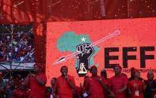 EFF leaders and supporters at the party's rally campaign in Soweto on Sunday 5 May 2019. Picture: Kayleen Morgan/EWN