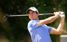 Italian golfer Matteo Manassero dropped consecutive strokes at the start of Round 3 of the Open. Picture: Official Matteo Manassero Facebook Page