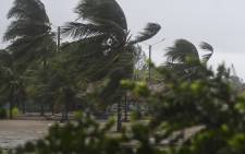 FILE: View of the Pedro de Tela beach during heavy winds caused by Eta Hurricane, at the Caribbean sea 300 km northern Tegucigalpa, on 3 November 2020. Picture: AFP
