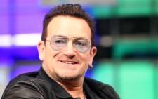 Irish singer-songwriter Bono. Picture: EPA.