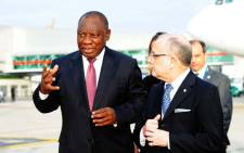 President Cyril Ramaphosa arriving in Buenos Aires, Argentina, through Ezeiza Ministro Pistarini International Airport where he is leading the South African delegation to the G20 Summit which takes place from 30 November to 1 December 2018. Picture: GCIS.