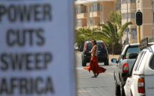 FILE: Traffic lights  not working in Cape Town on 21 January 2008, as a result of load shedding by Eskom. Picture: AFP.