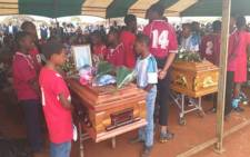 Seven of the eight learners who died in a car accident have been laid to rest in the North West. Picture: Twitter/NW Department of Education