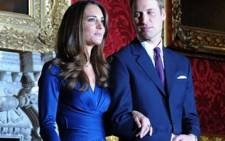 Kate Middleton and Prince William. Picture: AFP.