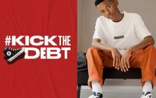 Converse has launched its #KickTheDebt campaign on 9 February 2021. Picture: Converse Facebook.