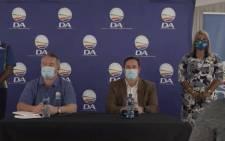 DA leader John Steenhuisen in Phoenix, KZN, on 3 August 2021. Picture: @Our_DA/Twitter.