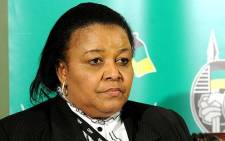 Water and Environmental Affairs Minister Edna Molewa. Picture: ANC
