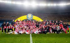 Athletic Bilbao stunned Barcelona 3-2 after extra time to win the Spanish Super Cup on 17 January 2021. Picture: @AthleticClub/Twitter