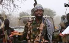 FILE: A screen grab image taken on 29 December 2016 from a video released on YouTube by Islamist group Boko Haram showing its leader Abubakar Shekau. Picture: AFP