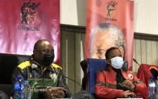 ANC President Cyril Ramaphosa delivered the ANC's message of solidarity at Cosatu's May Day rally. Picture: @CyrilRamaphosa on Twitter.