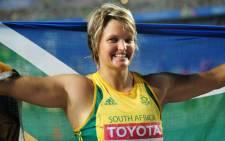 South African Olympics Athlete Sunette Viljoen. Picture: AFP.
