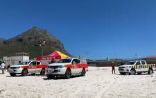 The popular beach was closed to swimmers on Sunday, however, authorities have not yet been able to trace him. Picture: Lizell Persens/EWN