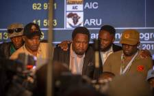 Members of small parties brief the media at the Pretoria Results Operations Centre on 10 May 2019 on how they say irregularities within the voting process have compromised the electoral process. Picture: Thomas Holder/EWN