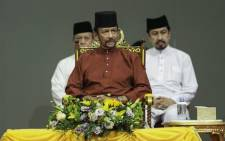 Brunei's Sultan Hassanal Bolkiah attends an event in Bandar Seri Begawan on 3 April 2019. Picture: AFP