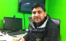 The owner of Velocity Cars in Athlone where an explosive device went off on the night of 24 July 2013. Rahima Essop/EWN