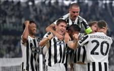 Juventus beat Chelsea 1-0 on 29 September 2021. Picture: @juventusfcen/Twitter