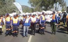 The Gauteng MEC for Community Safety, Sizakele Nkosi-Malobane, accompanied by community leadership, representatives of civil society and the South African Police Service will today embark on a Thuma Mina Peace Walk as part of her safety outreach programme. Picture: Facebook