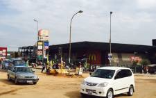 Pan Africa Shopping Centre in Alexandra, where things are gradually returning to normal following attacks on foreign nationals over the past two weeks. Picture: Aurelie Kalenga/EWN.